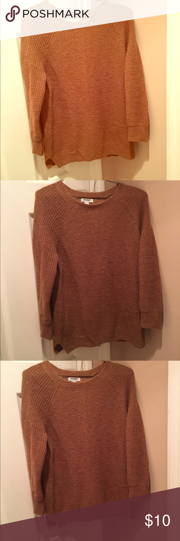 Old Navy Tan Sweater.. Mid Length Sleeves! $10 Old Navy Tan ...