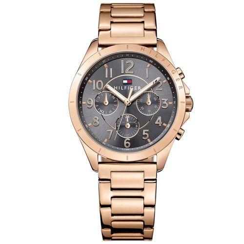 32a587c475 Relógio Tommy Hilfiger Feminino Aço Rosé - 1781606