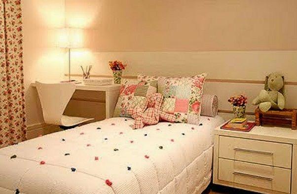 decoracao quarto menina  assim eu gosto  Quarto de menina  Pinterest  Q