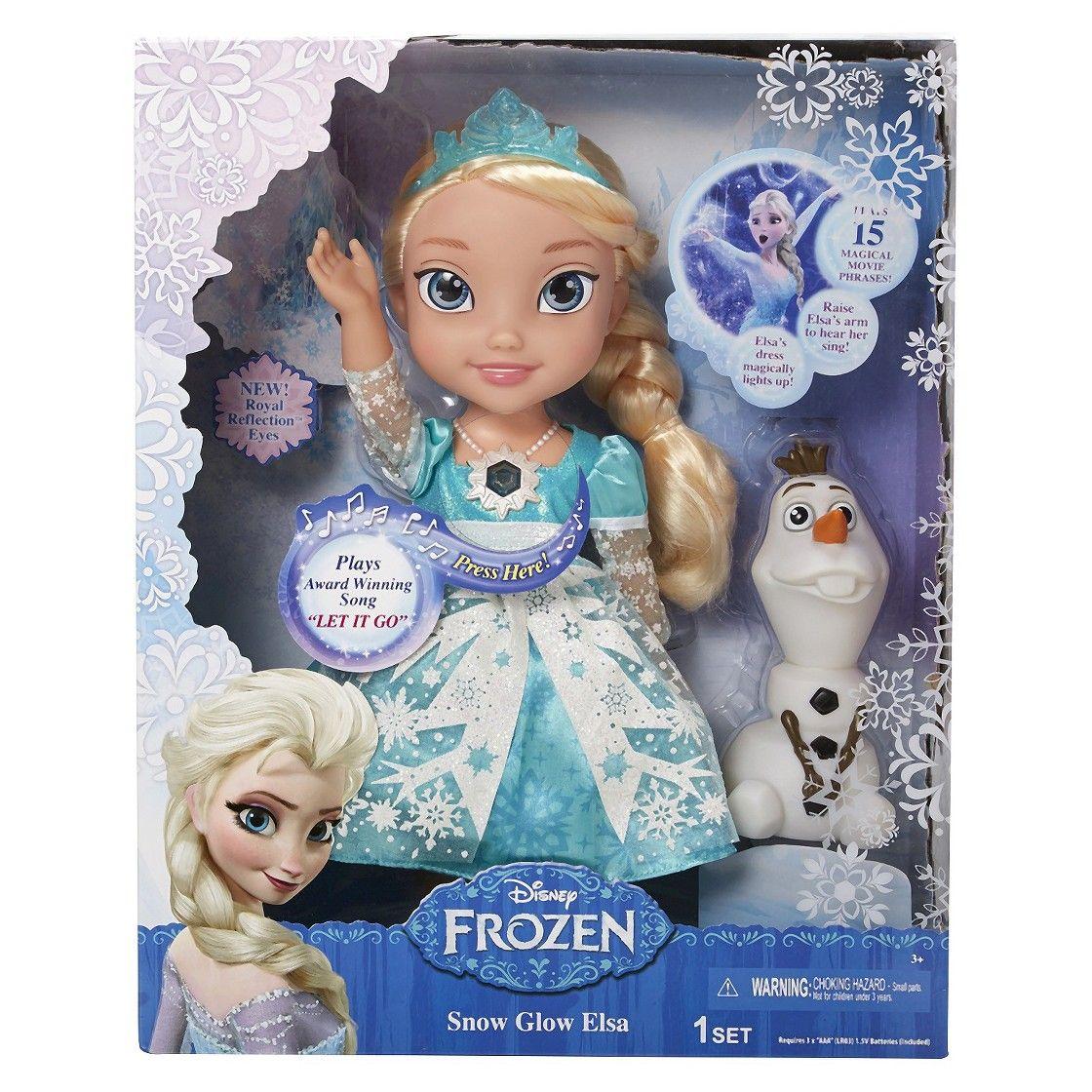 Disney Frozen Snow Glow Elsa my daughter wants this so bad ...