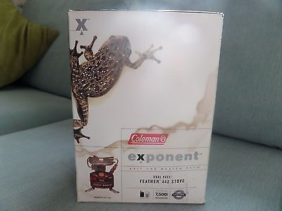 #Coleman #exponent #feather 442 stove dual fuel new in box,  View more on the LINK: http://www.zeppy.io/product/gb/2/252305406841/