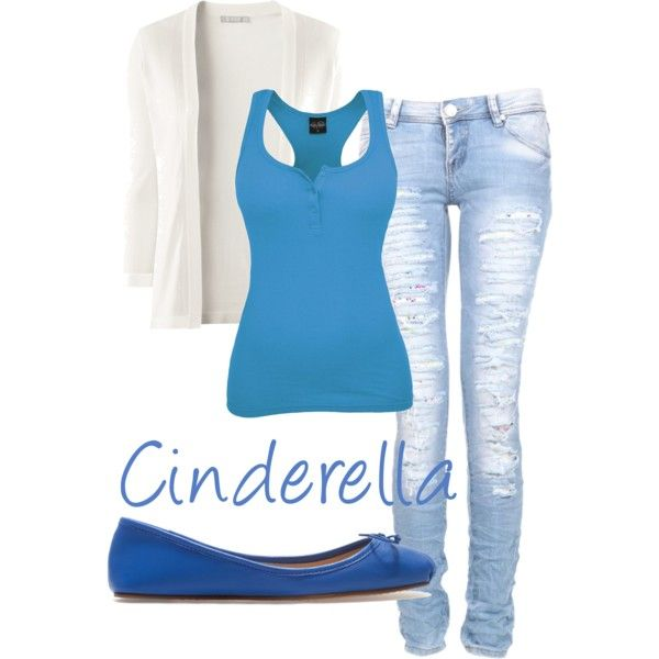Cinderellau0027s teen outfit - Polyvore  sc 1 st  Pinterest & Cinderellau0027s teen outfit | Pinterest | Teen outfits Teen and Polyvore