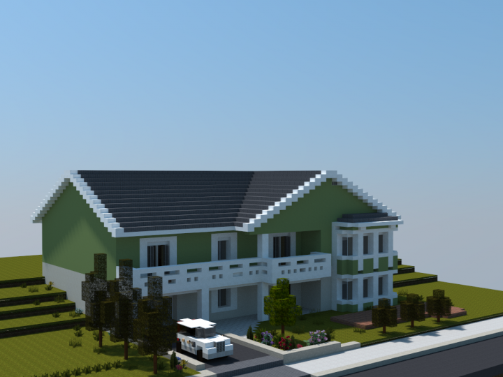 how to make realistic buildings in minecraft