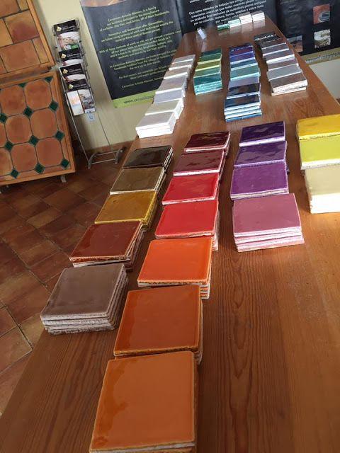 nuevos azulejos rsticos new line rustic glazed tiles by antonio alemn - Azulejos Rusticos