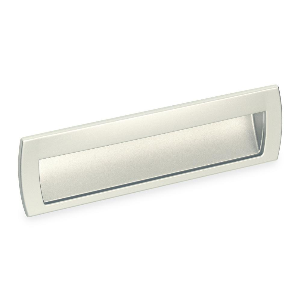 null 2578 Series 6-5/16 in. Satin Nickel Flush Cabinet Pull | Satin ...