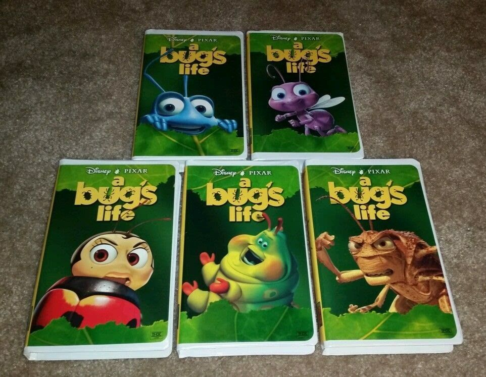 A Bug S Life 1999 Vhs A Bug S Life Vhs Pixar