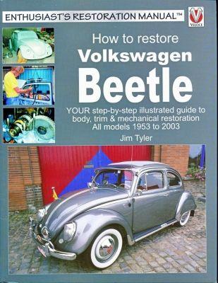 How To Restore Volkswagen Beetle New condition 1953 through 2003