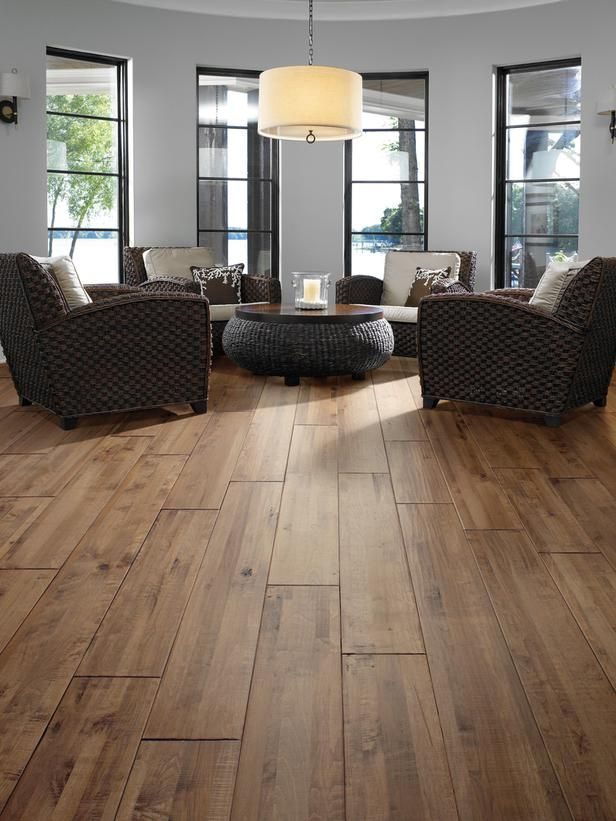 Light Vs Dark Wood Floors Make Your Flooring A Focal Point - Wide hardwood flooring