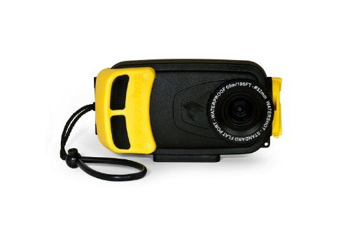 Watershot Inc Wssg4 001 Underwater Housing For Samsung Galaxy S4 Black Yellow Http Photography Diy Samsung Galaxy S4 Underwater Camera Housing Galaxy S4
