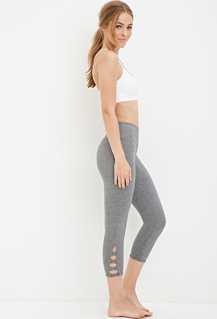 Crisscross-Ankle Capri Leggings - Activewear - 2000180646 ...