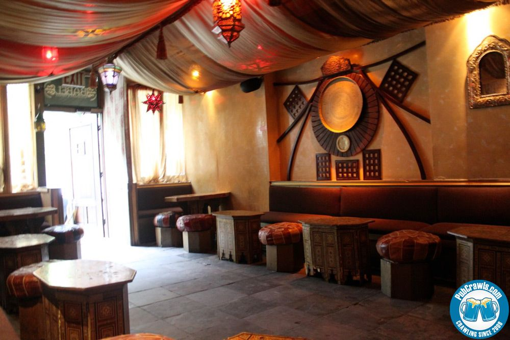 Babel lounge and hookah bar i really like the look here - Shisha bar lounge mobel ...