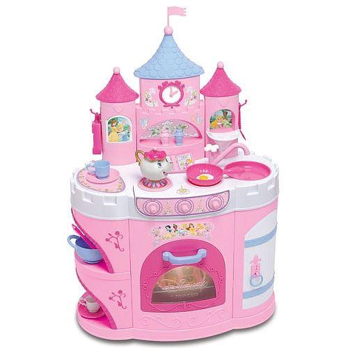 Disney Princess - Deluxe Talking Princess Kitchen - English ...