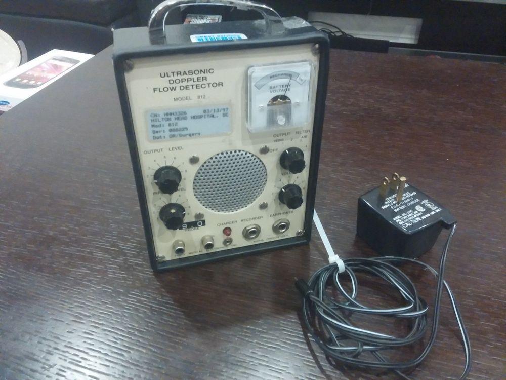 Parks medical electronics ultrasonic doppler flowmeter