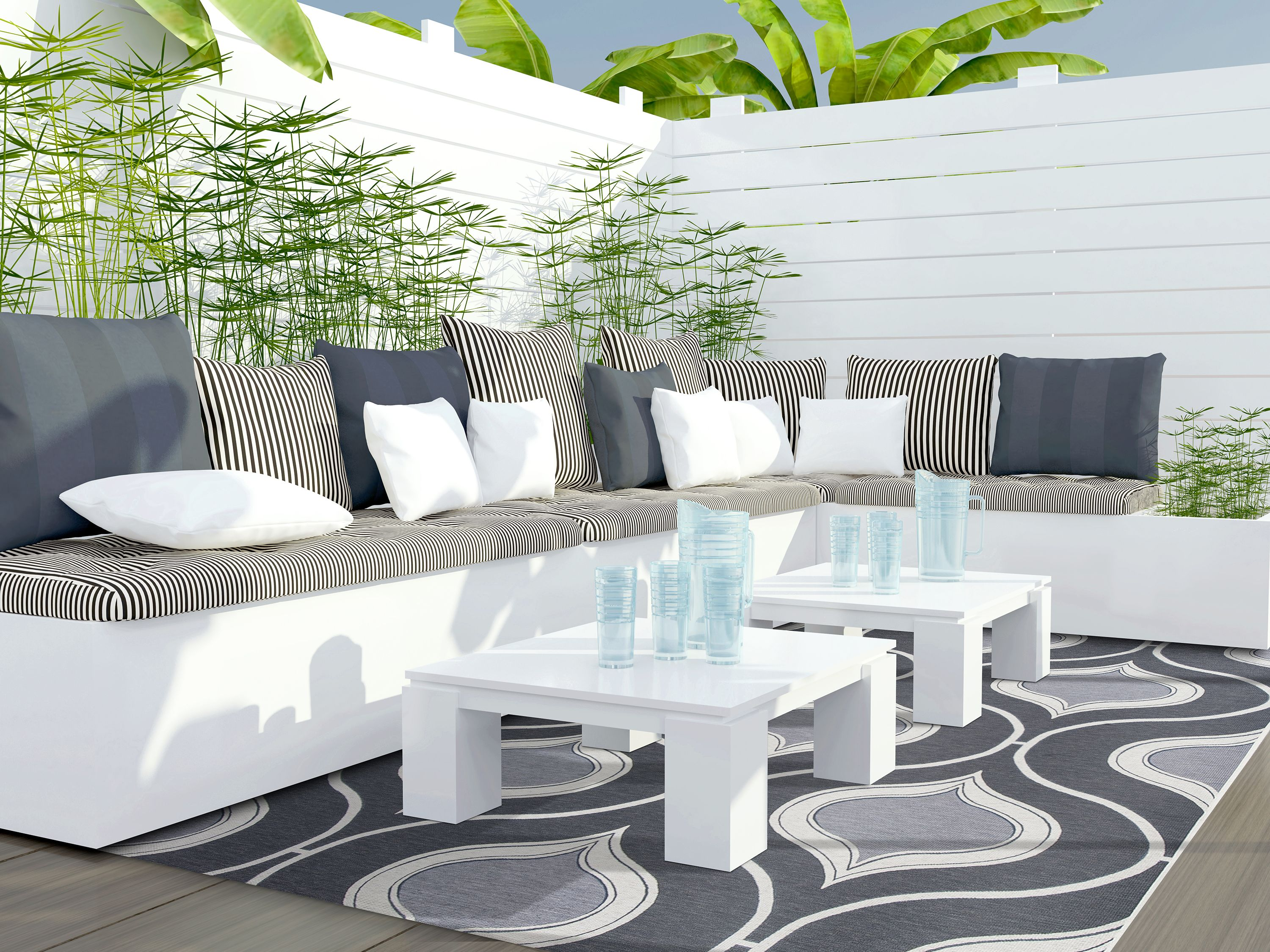 Liven Up Your Patio Or Lanai With A Beautiful Outdoor Rug Hundreds In Stock Daily And Multiple Sizes Available W Patio Seating Area Patio Rugs Patio Seating