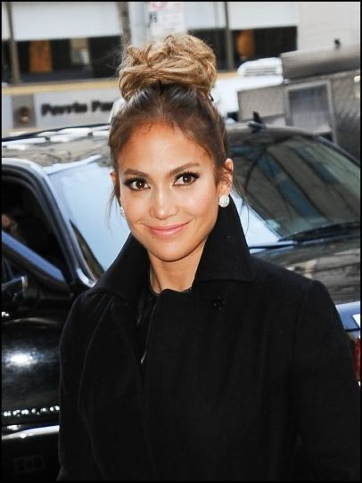 Jennifer Lopez Hair Beauty Celebrity Bun Jennifer Lopez Gorgeous Hair Wedding Hair And Makeup