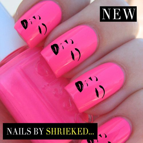 Marilyn Monroe Decal Designs For Nails Water Transfers Celebrity Style Manicure