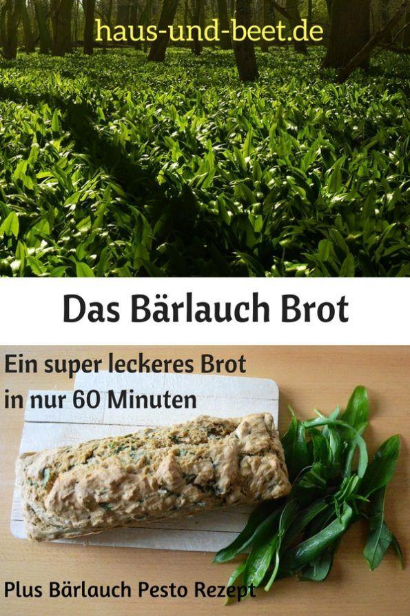 Das Barlauch Brot Backe Dir Das Brot Des Fruhlings Haus Und Beet Rezepte Gesunde Fruhstucksrezepte Barlauch