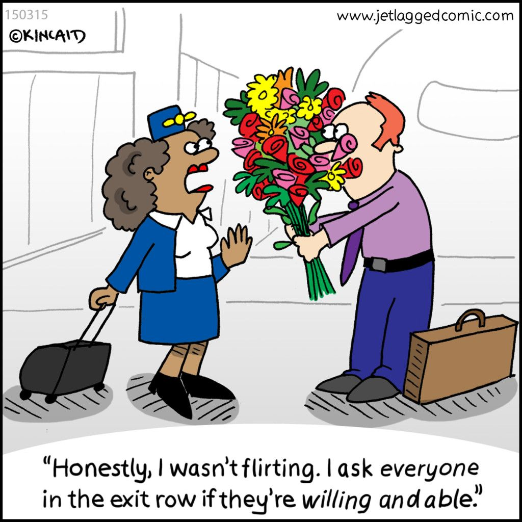 LOL!! Oh the pax we encounter!! Flight attendant humor
