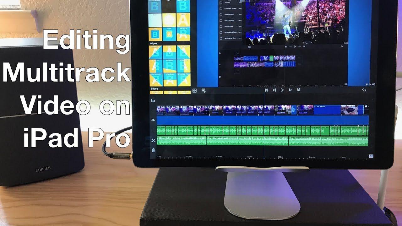 Editing Multi-track Video on iPad Pro With LumaFusion | iPad