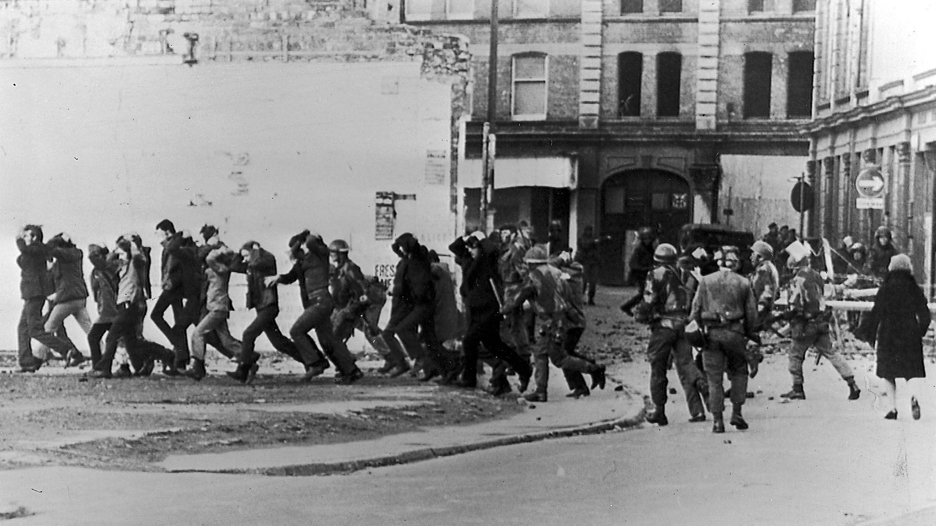 """A 45 años de la masacre del """"Domingo sangriento"""" en Irlanda"""