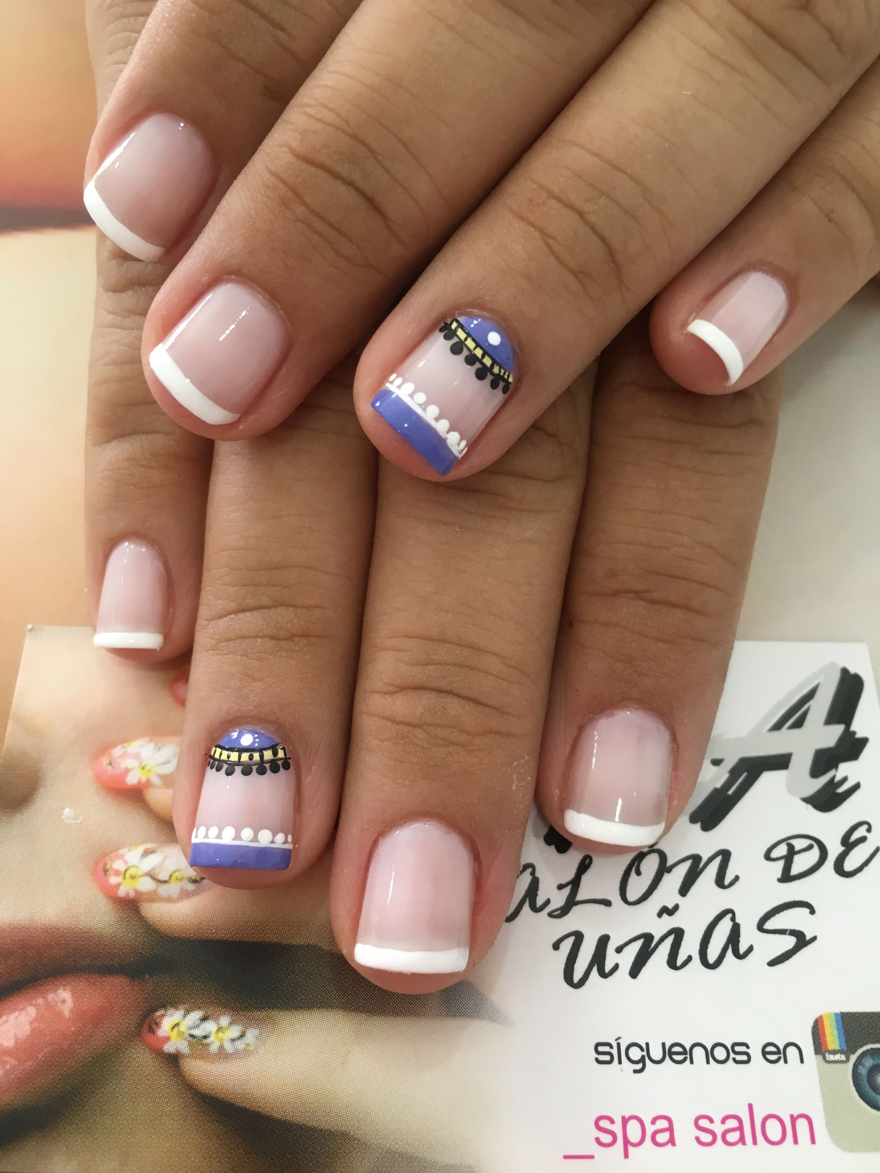 Pin De Maga Chic En Uñas Y Makeup Uñas Decoradas Sencillas