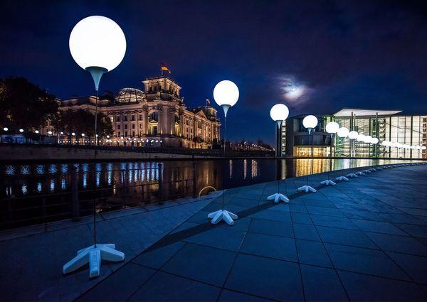 Lichtgrenze Kunst Installationen Interaktive Kunst Lichtkunst