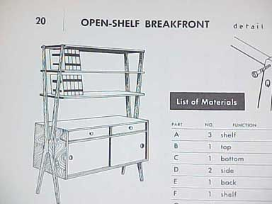 Lovely HOW TO BUILD MODERN FURNITURE BY MARIO DAL FABBRO 1957   $49.99 :  PopuluxeBooks, Retro