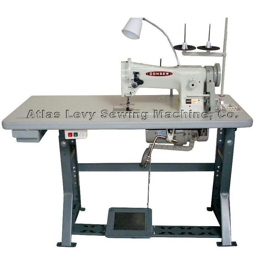Consew 206rb 5 Walking Foot Upholstery N Leather Sewing Machine W