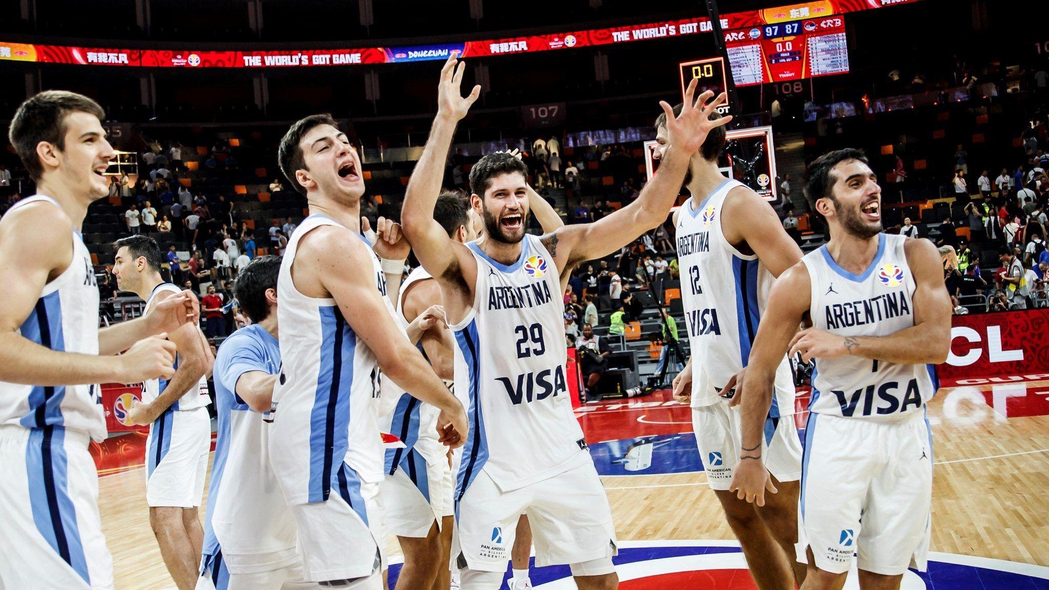 argentina fibawc mondial basket china 2019