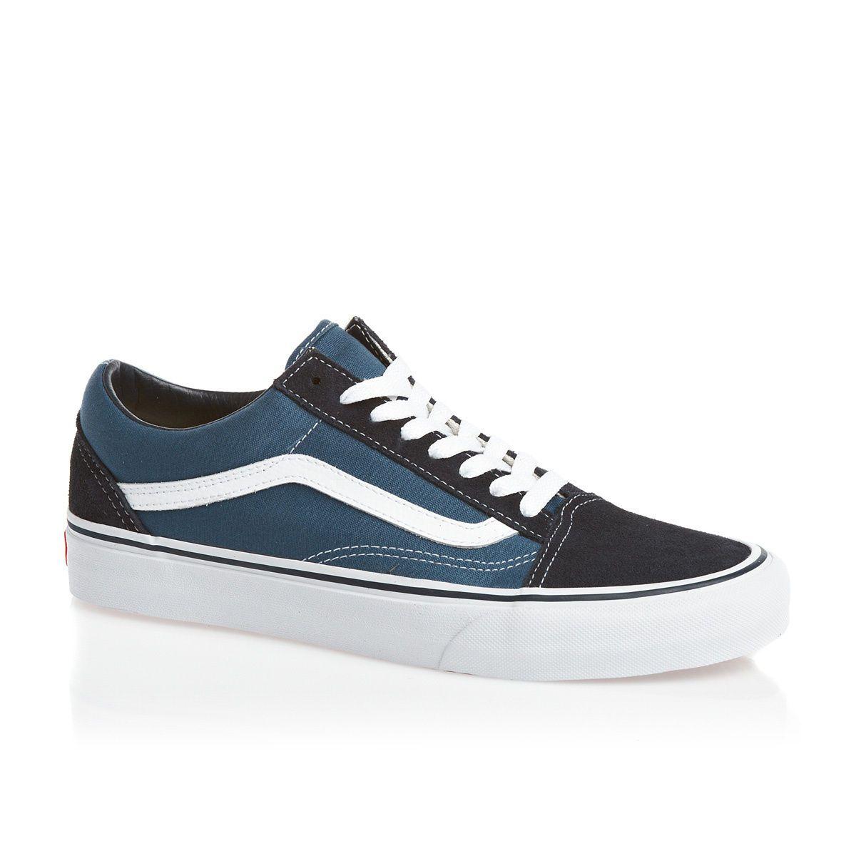 vans old skool brilliant blue true white