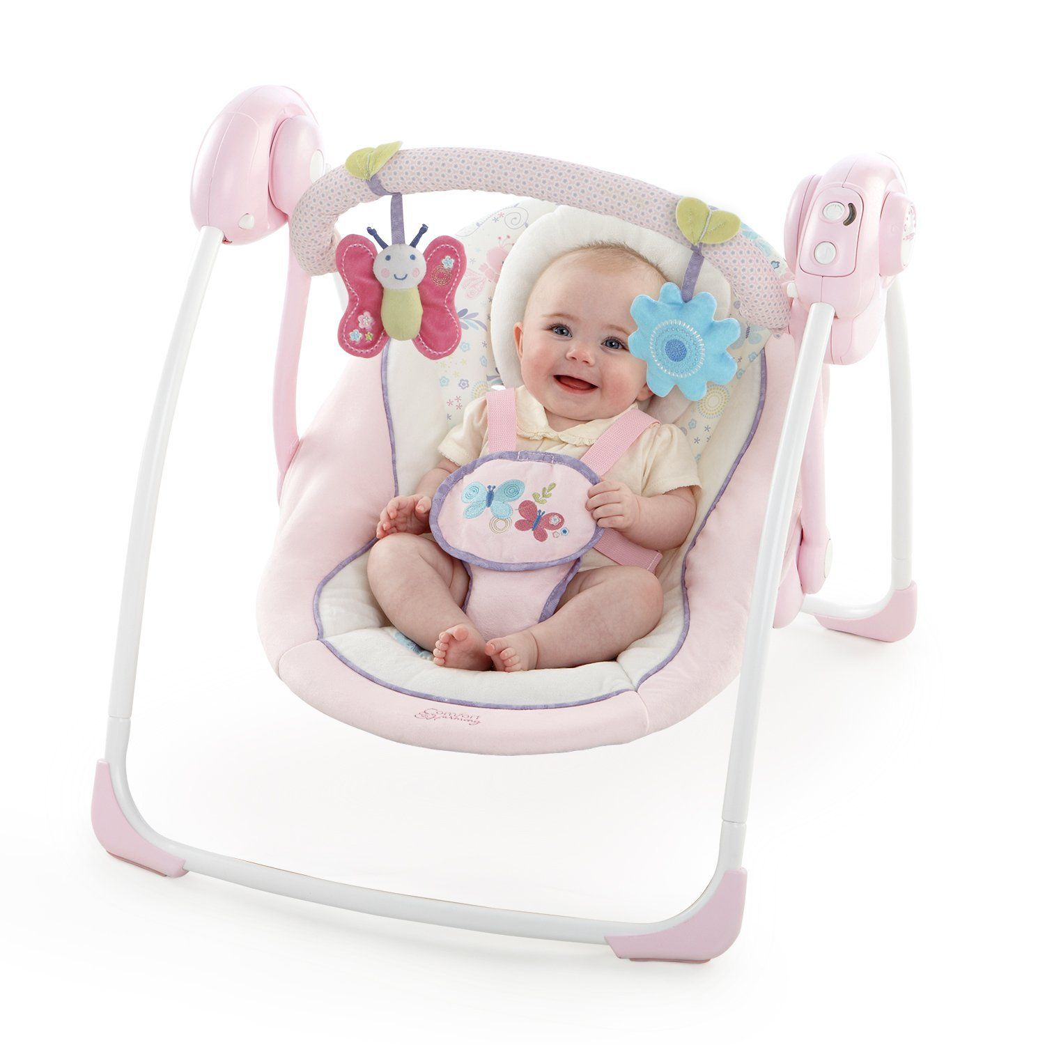 Comfort Harmony Penelope Petals Portable Swing Walmart Com Bright Starts Baby Swings Perfect Baby Gift