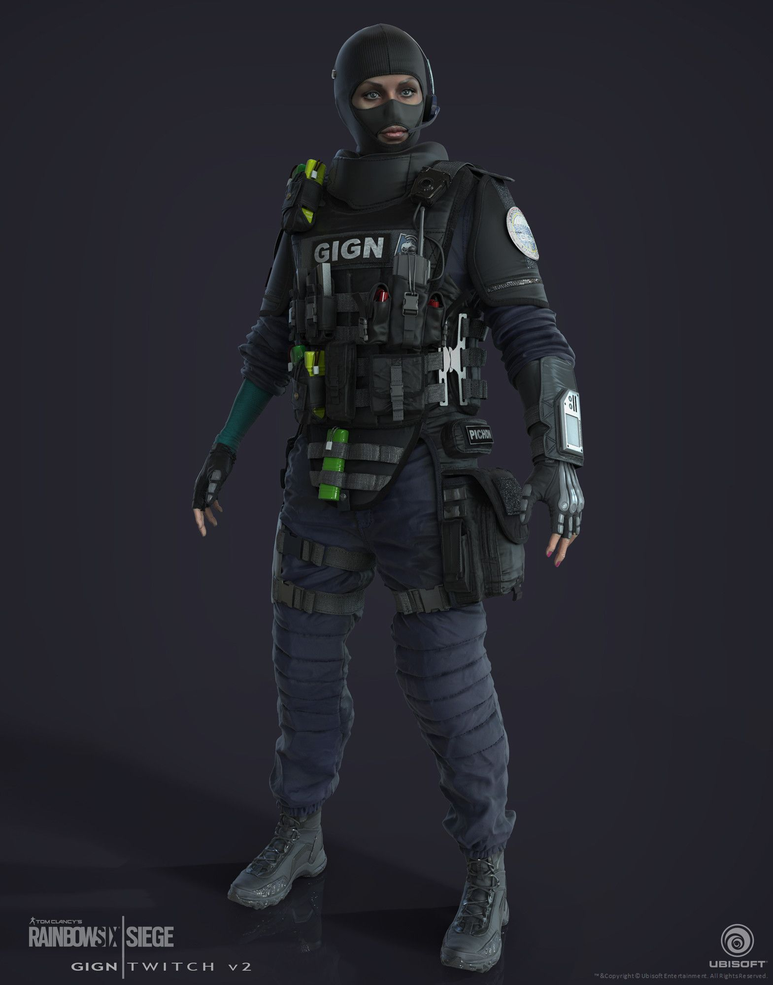Gign Doc Ctu Operator I Made For Rainbow 6 Siege Special Thanks