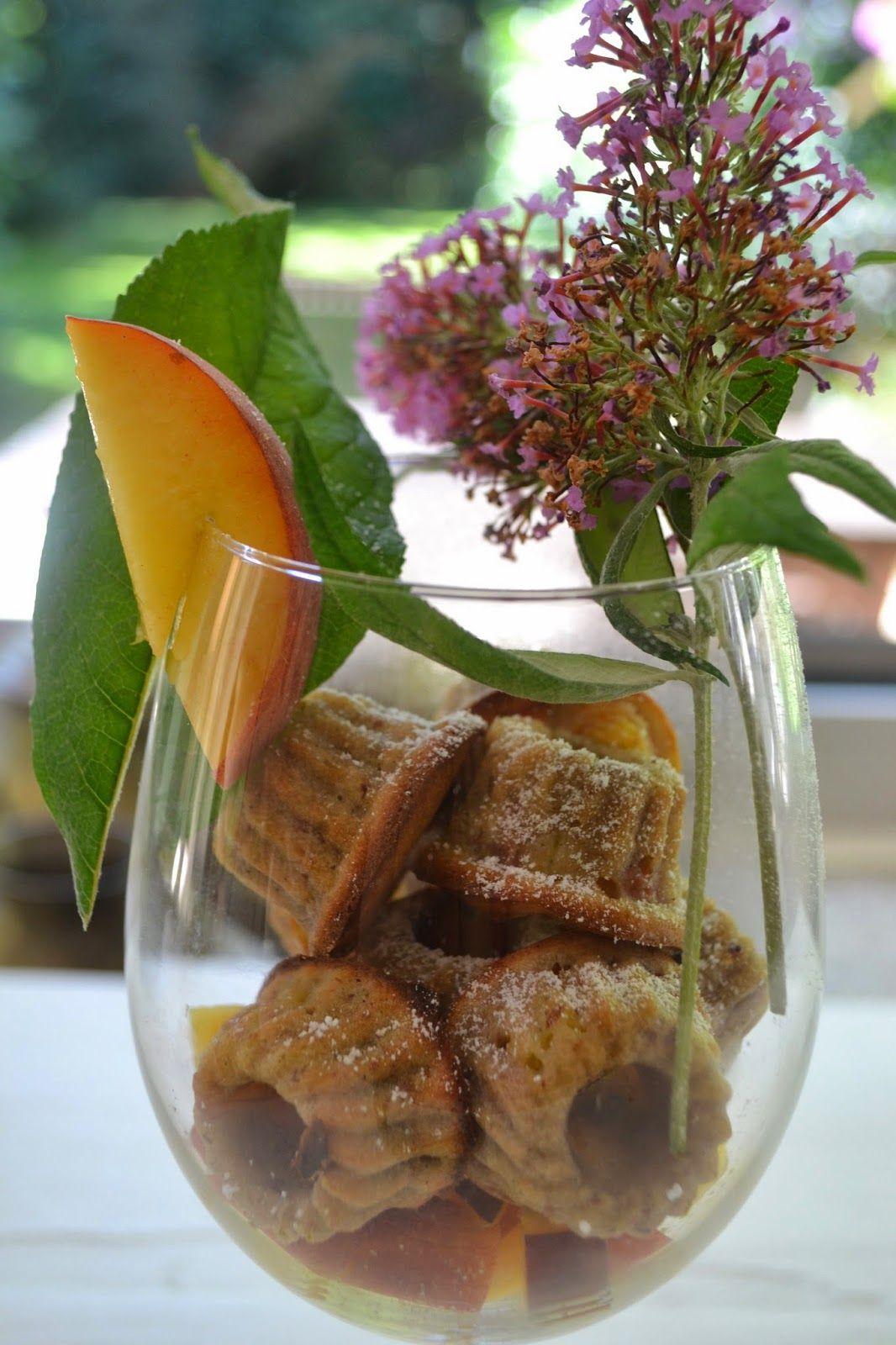 The Recipe Suitcase: Mini Pfirsich Gugl im Glas #ichbacksmir #gugl