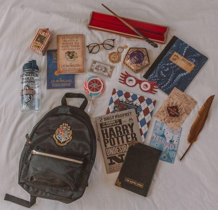 Was ist in meinem Rucksack: Hogwarts School & Harry Potter Edition   Was ist in meinem Rucksack: Ho