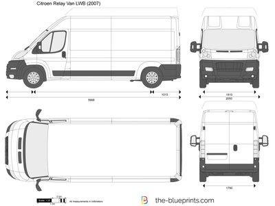 Citroen Relay Van Lwb Fiat Ducato Cargo Van Citro 235 N Relay