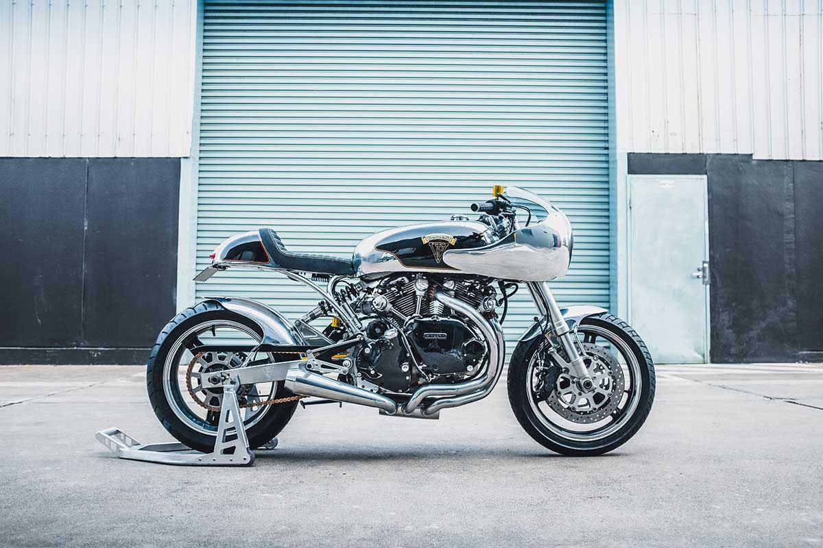 Top 10 For 2019 Custom Bikes Vincent Black Shadow Bike