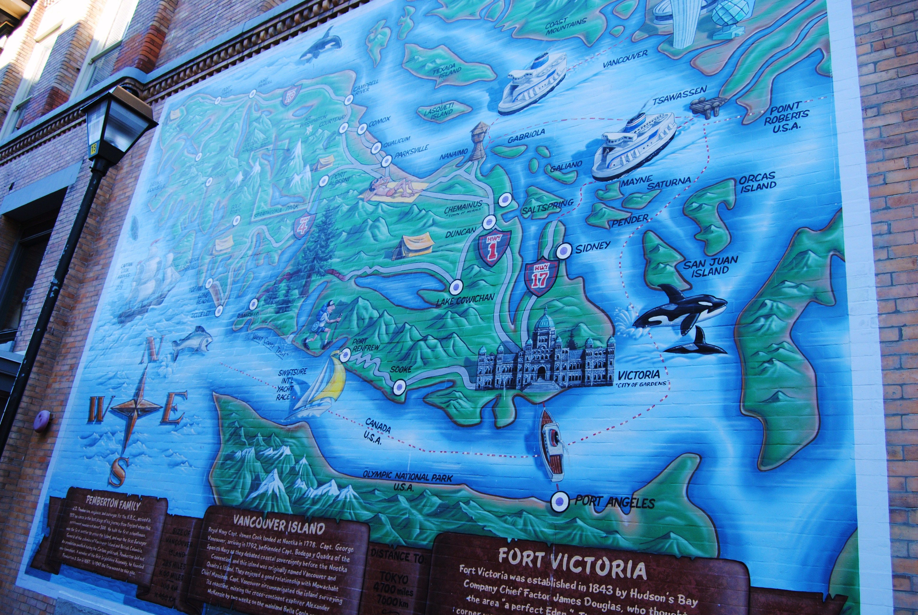 Victoria street art vancouver island map broughton st pemberton victoria street art vancouver island map broughton st pemberton land surveyor monument http gumiabroncs Gallery