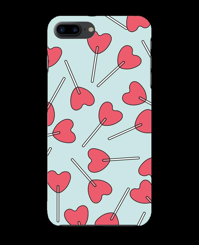 56bb7e4f9d4 Carcasa 3D Iphone 7+ Sucettes coeur tunetoo -Tunetoo #sanvalentin #amor  #ideas
