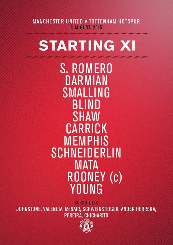 Startnih 11 Skoro Na Svakoj Utakmici Manchester United