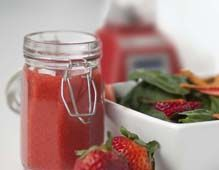 Strawaberry Ginger dressing. Sounds divine! Great for summer I think. By Blendtec
