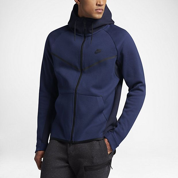 d00bd74863f9 Veste Nike Tech Fleece Windrunner - Sweat-shirt Homme Nike en 2019 ...