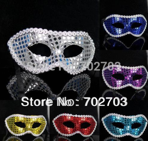 2pcs/lot halloween party glam Mask dance mask sequins masquerade