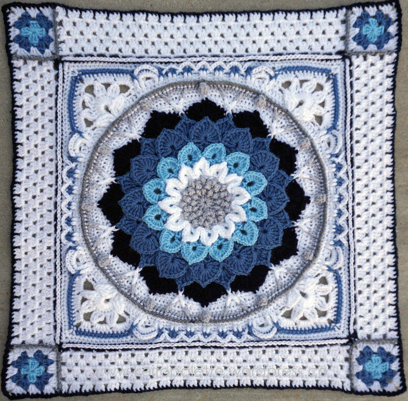 Enchanted Garden Plus Center.jpg | crochet | Pinterest | Mandalas ...