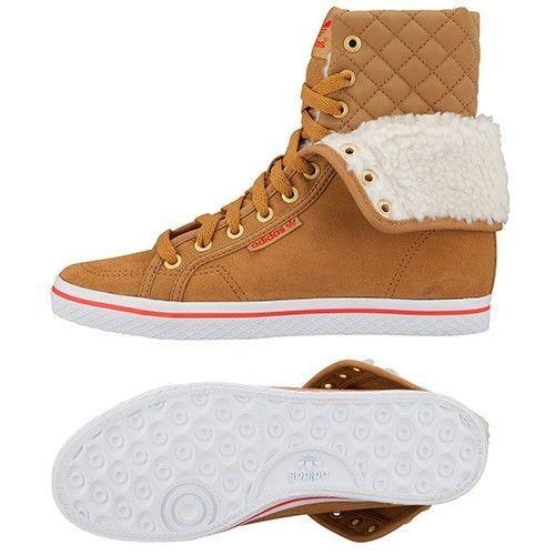 Details about Adidas Originals Honey HI Collegiate W Suede