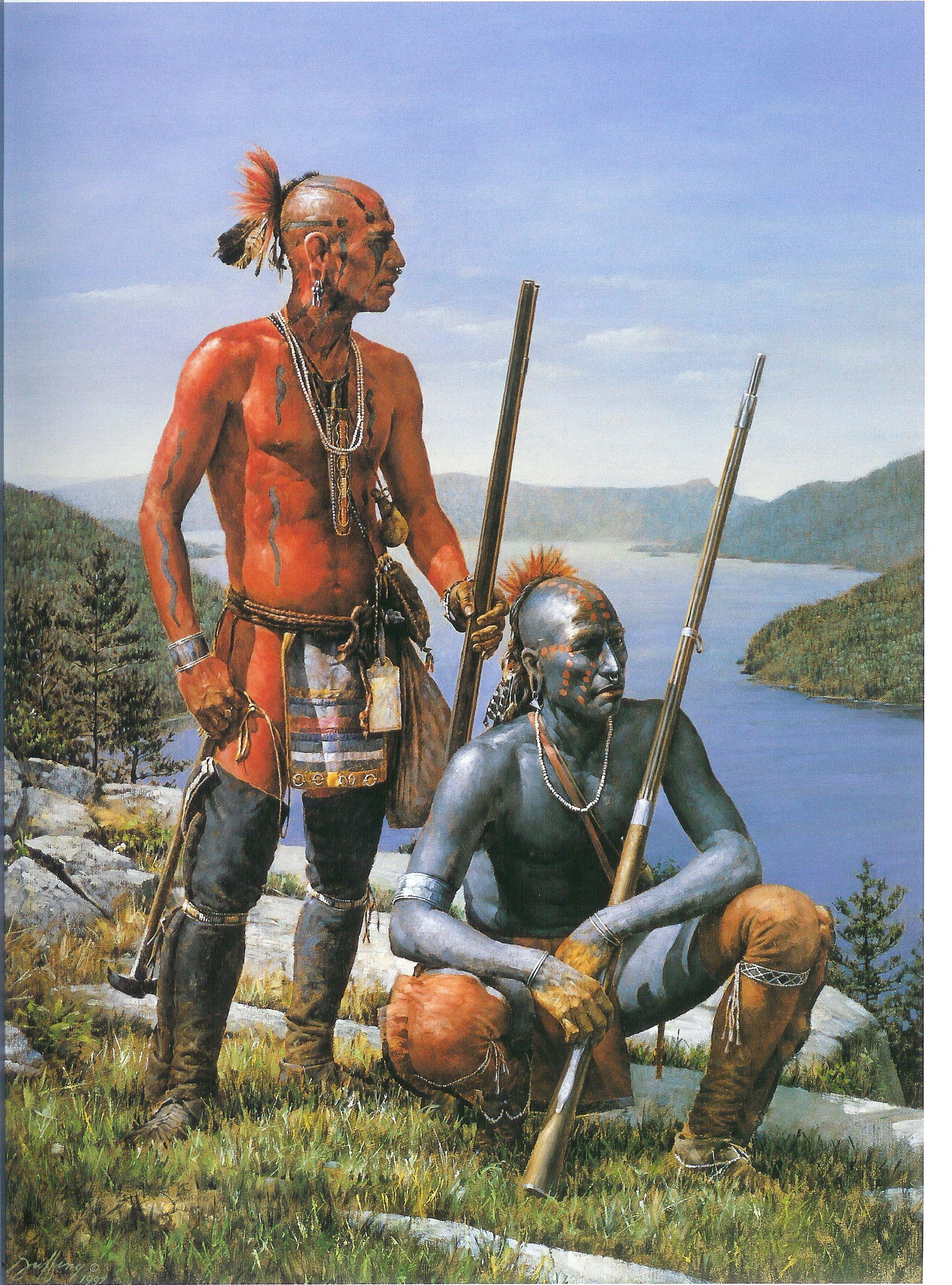 Native American Oil Paintings