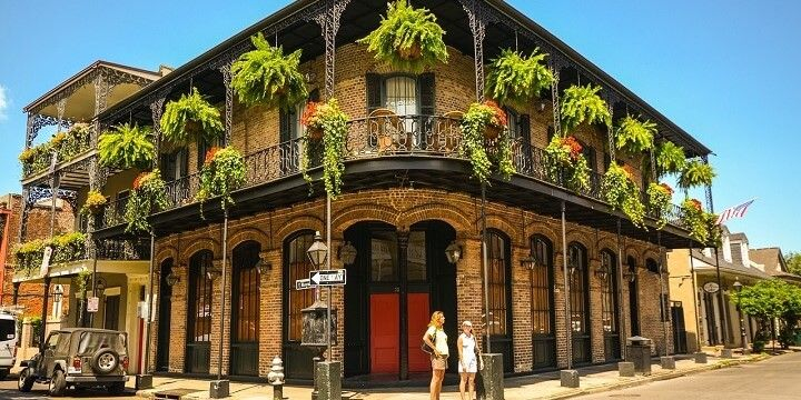 The French Quarter, New Orleans, Louisiana, USA