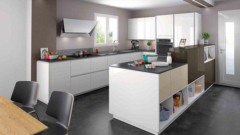 Kitchen U layout   Mobalpa International   a   Pinterest