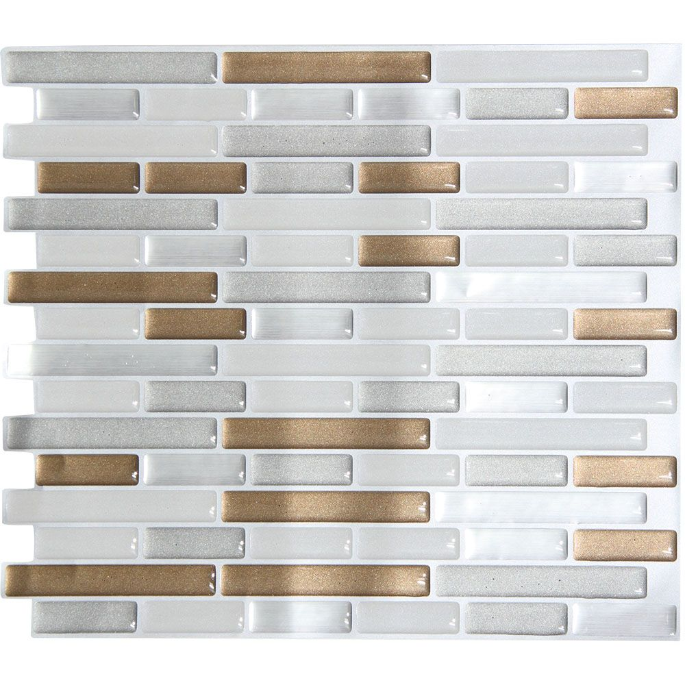 Self Adhesive Mosaic Tile Instant Stick On Backsplash Stick On
