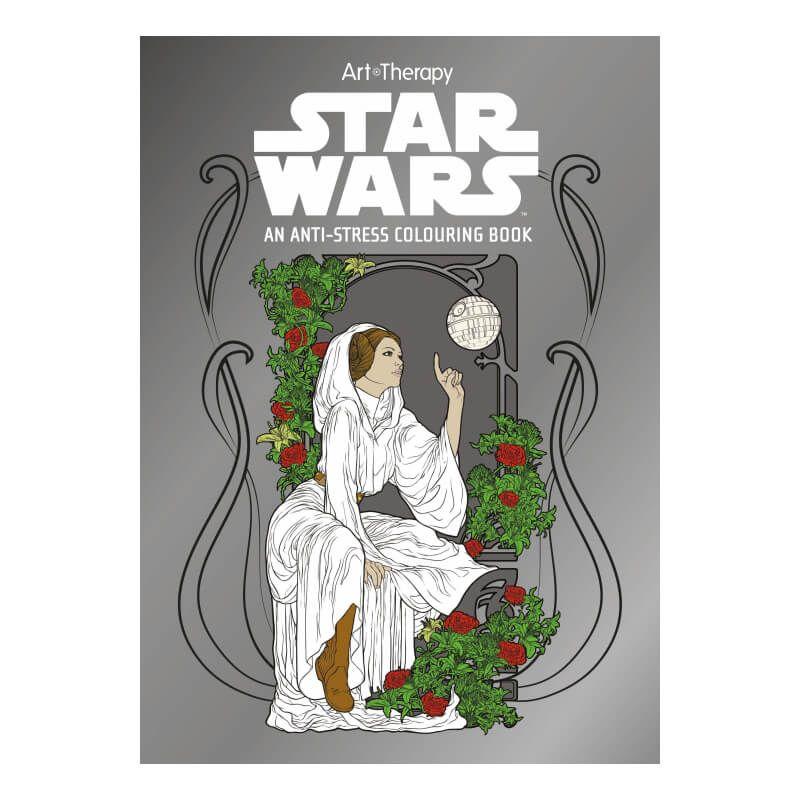 star wars  an antistress colouring book