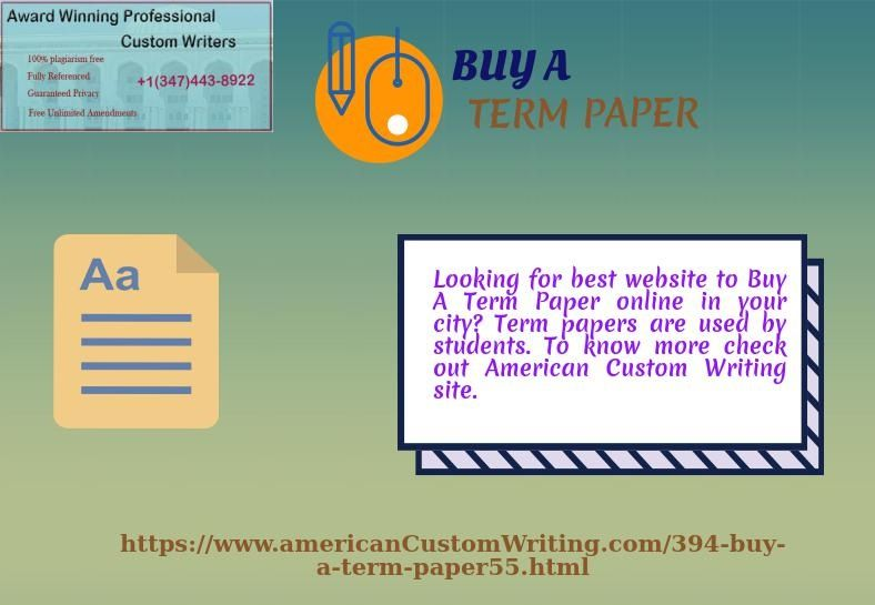 Custom term paper search